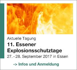 11. Essener Explosionsschutztage