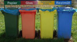 Kreislaufwirtschaft – Abfallwirtschaft – Recycling – Ressourcenschonung